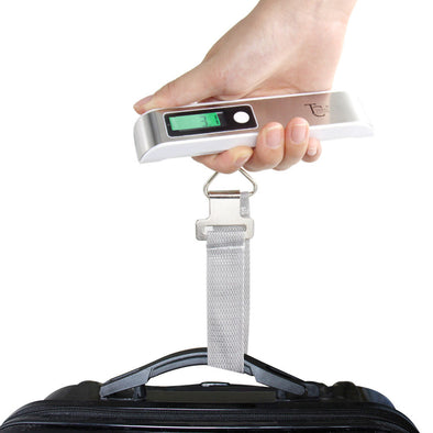 Bold Luggage Scale - White