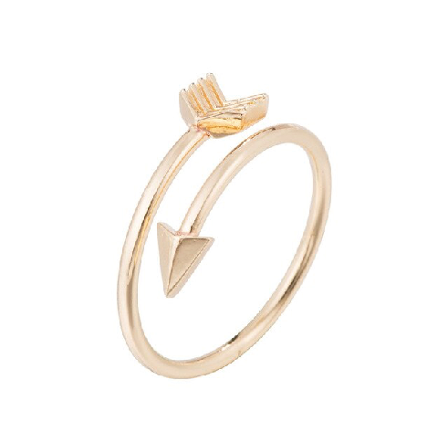 Find trendy new clothes and accessories for women at Duddi. Shop now! Arrow Ring, , Bidou, Bidou