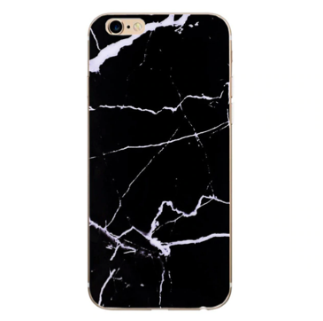 Marmor iPhone Cover - sort