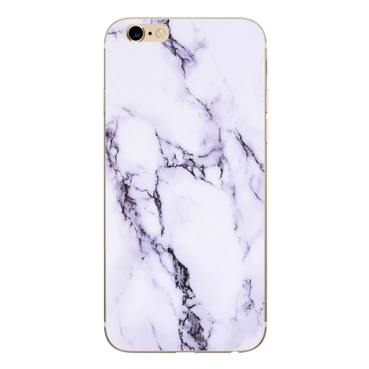 Find trendy new clothes and accessories for women at Duddi. Shop now! Marmor iPhone Cover - hvid, , Bidou, Bidou