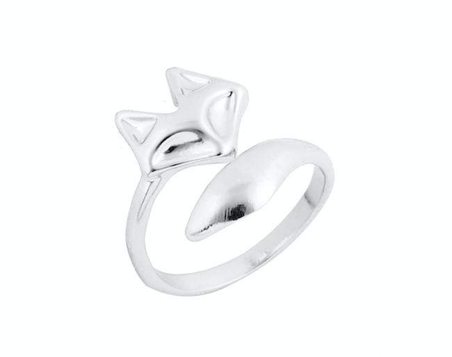 Find trendy new clothes and accessories for women at Duddi. Shop now! Fox Ring, , Bidou, Bidou