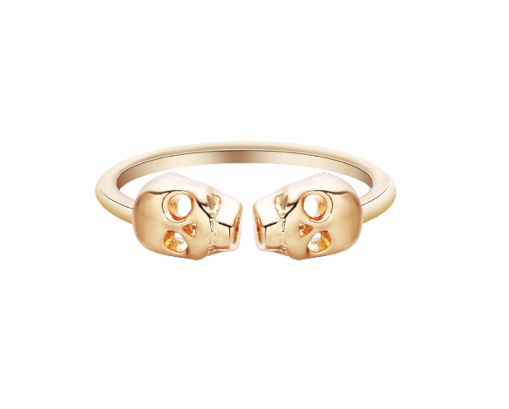 Find trendy new clothes and accessories for women at Duddi. Shop now! Skull Ring, , Bidou, Bidou