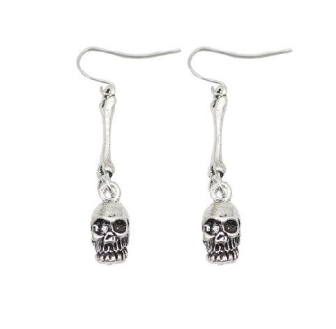 Find trendy new clothes and accessories for women at Duddi. Shop now! Skull Øreringe, , Bidou, Bidou