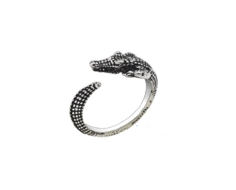 Find trendy new clothes and accessories for women at Duddi. Shop now! Croc Ring, , Bidou, Bidou