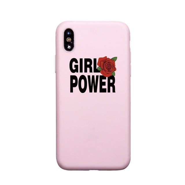Find trendy new clothes and accessories for women at Duddi. Shop now! Girl Power iPhone Cover, , Bidou, Bidou