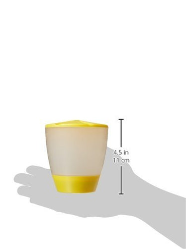 Britta Products Turner-Yellow01 Solar Patio Table Lamp with LED Candle Accent Light