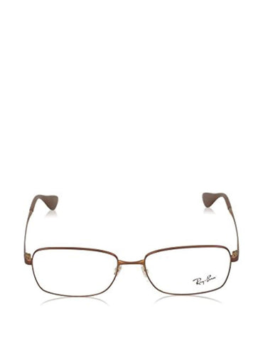 Ray-Ban RX6336M 2758 Eyeglasses Matte Brown