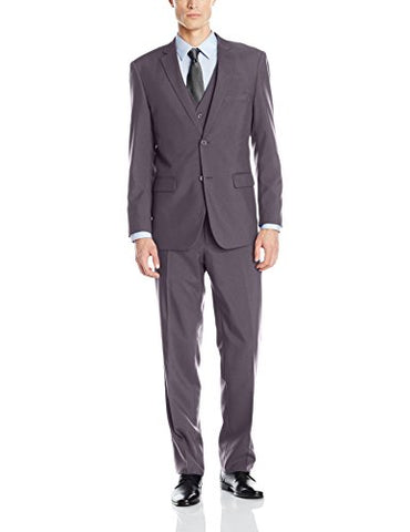 Alain Dupetit Men's Three Piece Two Button Suit