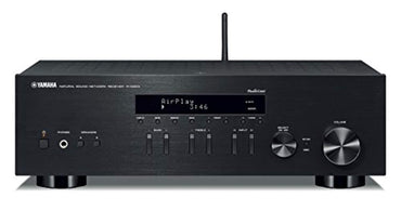 Yamaha R-N303BL Stereo Receiver with Wi-Fi Bluetooth & Phono Black, Works with Alexa
