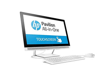 "2019 Flagship HP Pavilion 23.8"" FHD IPS Touchscreen All-in-One Desktop Intel Six-Core i5-8400T up to 3.3GHz 16GB DDR4 1TB SSD DVD Bluetooth 4.2 802.11ac USB 3.1 Type-C Keyboard & Mouse Win 10"