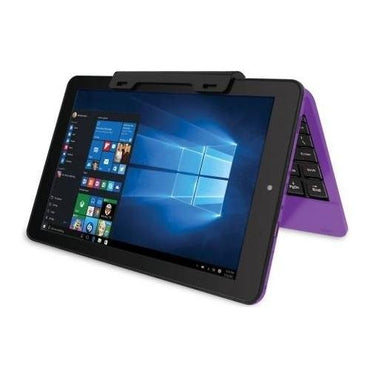"2016 RCA Cambio Purple 10.1"" 2-in-1 Tablet PC with Detachable Keyboard and Windows 10"