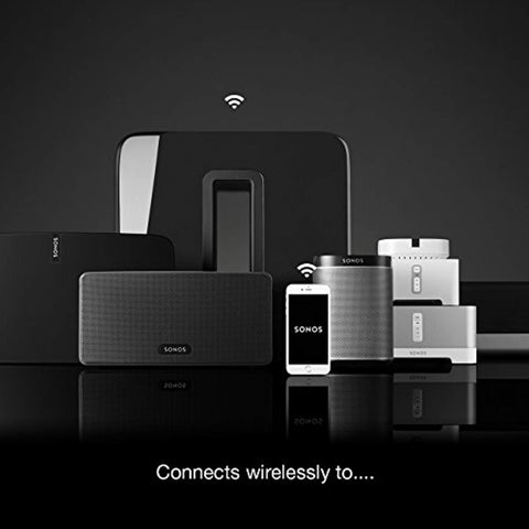 Sonos Sub – Wireless Subwoofer that adds bass to your home theater and your music.