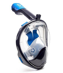 Seaview 180° GoPro Compatible Snorkel Mask- Panoramic Full Face Design.