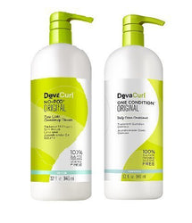 Devacurl Original Kit with No-Poo and One Condition, 32 fl. oz.