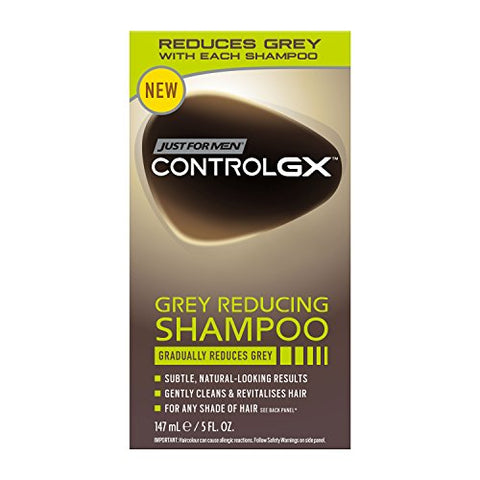 Just for Men Control GX Grey Reducing Shampoo, 5 Fluid Ounce