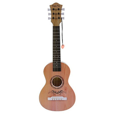 Happy Tune 6 String Acoustic Guitar Toy for Kids with Vibrant Sounds and Tunable Strings