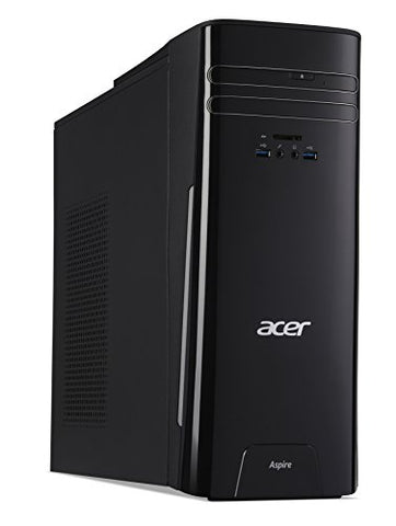 Acer Aspire Desktop, 7th Gen Intel Core i3-7100, 8GB DDR4, 1TB HDD, Windows 10 Home, TC-780-ACKi3