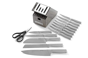 Calphalon Classic Self-Sharpening Stainless Steel 15-piece Knife Block Set