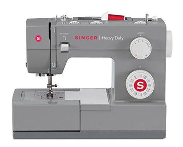SINGER Sewing 4432 Heavy Duty Extra-High Speed Portable Sewing Machine with Metal Frame and Stainless Steel Bedplate