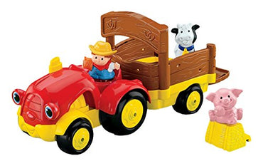 Fisher-Price Baby Little People Tow 'n Pull Tractor
