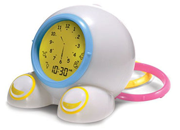 Mirari Teach Me Time! Talking Alarm Clock & Night-Light