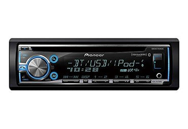 Pioneer DEH-X6800BS Single-DIN Bluetooth Car Stereo with MIXTRAX Smartphone Integration and SiriusXM Compatibility