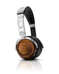 EVEN EarPrint H2 Wireless, Personalized Hearing-Enabled Headphones - Walnut and Steel
