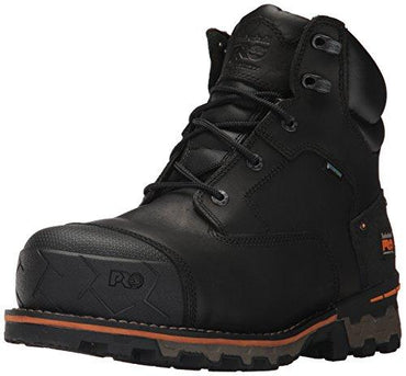 "Timberland PRO Men's Boondock 6"" Composite Toe Waterproof Industrial and Construction Shoe"