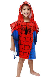 Marvel Spiderman Hooded Bath/Beach Poncho Towel