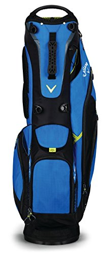 Callaway Golf 2018 Fusion Stand Bag, Blue/ Black/ Neon Yellow