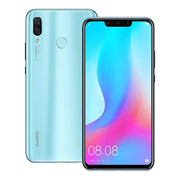 Huawei nova 3 (PAR-LX9) 6GB / 128GB 6.3-inches LTE Dual SIM Factory Unlocked (Airy Blue)