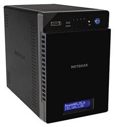 NETGEAR ReadyNAS RN214 4 Bay 8TB Personal Cloud NAS, Desktop & Mobile App, 24TB Capacity Network Attached Storage, 1.4GHz Quad Core Processor, 2GB RAM, RN214D42-100NES