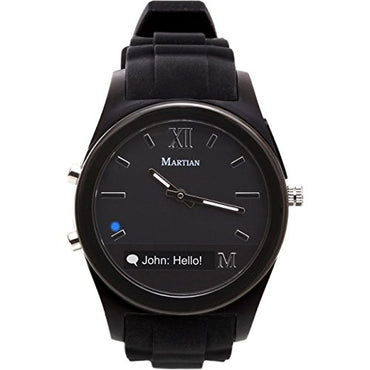 Martian Watches Notifier Smartwatch - Black