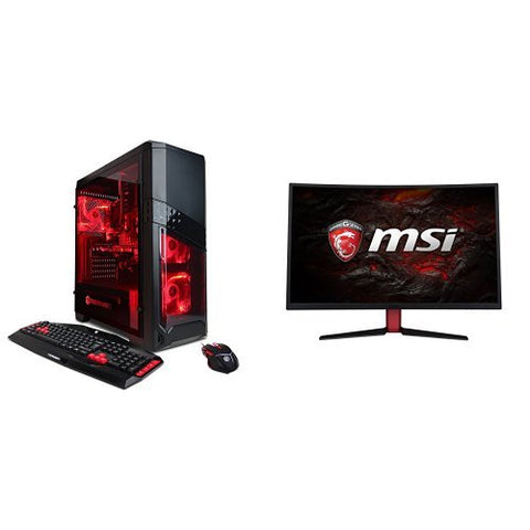 CYBERPOWERPC Gamer Ultra GUA3120A w/ AMD FX-4300 3.8GHz CPU, 8GB DDR3, AMD R7 250 2GB, 1TB HDD, 24X DVD+-RW & Win 10 Home 64-Bit Desktop Gaming PC