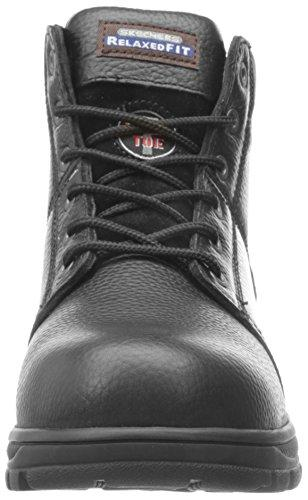 Skechers for Work Men's 77009 Workshire Relaxed Fit Work Steel Toe Boot