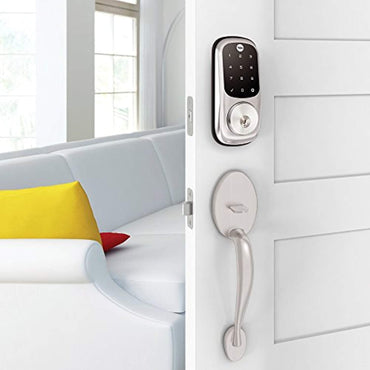 Yale Assure Lock Touchscreen Keypad with Z-Wave, Satin Nickel, YRD226ZW2619, Works with Alexa, SmartThings and Wink