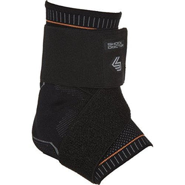 Shock Doctor Ultra Compression Knit Ankle Support w/Gel Support and Figure-8 Str