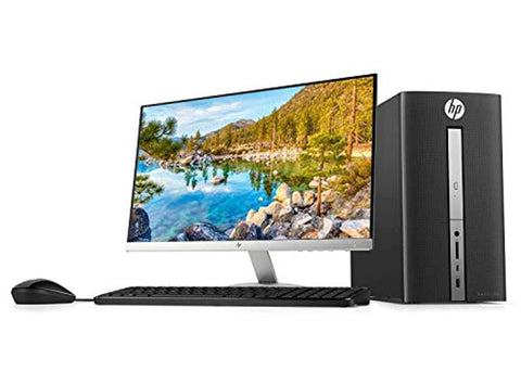 "HP Pavilion 570 23"" Full HD Desktop Bundle, Intel i3-7100, 3.9GHz 8GB DDR4 RAM 1TB HDD"