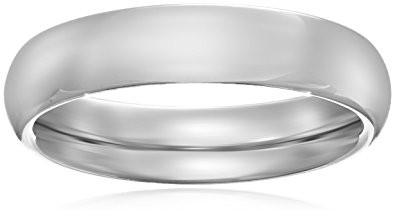 Standard Comfort Fit 10K Gold Wedding Band, 4mm