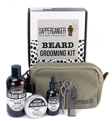 Beard Oil Kit For Men Gift Grooming Care Growth & Maintenance - Organic. Great Smelling Gift Set - Best for Dandruff & Split Ends - Make Your Beard Look Boss