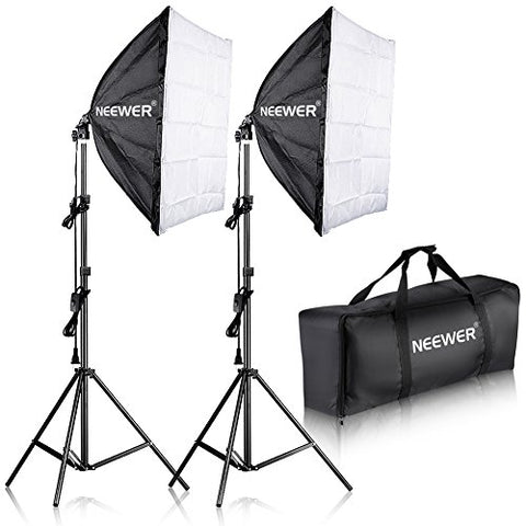 Neewer 700W Professional Photography 60x60cms Softbox with E27 Socket Light Lighting Kit