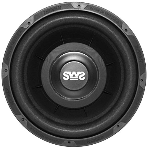 Earthquake Sound SWS-10X Shallow Woofer System 10-inch Car Subwoofer, 4-Ohm (Single)