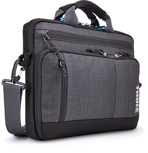 "Thule Stravan TSDA-113 Nylon Deluxe Attache 13"" MacBook Laptop Notebook Bag - Gray"