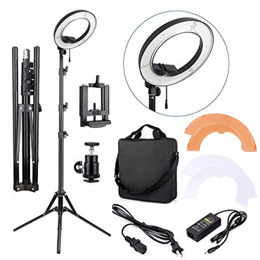 EACHSHOT ES180 Kit, {Including Light, Stand, Phone Clamp, Tripod Head}