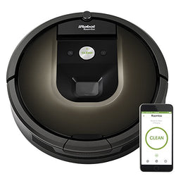 iRobot Roomba 980 Robot Vacuum with Wi-Fi Connectivity + Manufacturer's Warranty