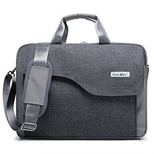 CoolBELL Nylon Laptop Bag Shoulder Bag With Strap Multicompartment Messenger Hand Bag Tablet Briefcase For iPad Pro / laptop / Macbook / Ultrabook / Men / Women / College