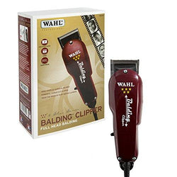 Wahl Professional 5-Star Balding Clipper #8110 – Great for Barbers and Stylists – Cuts Surgically Close for Full Head Balding
