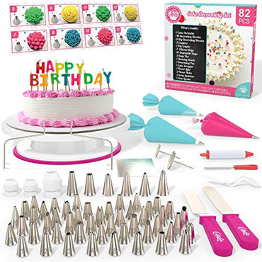 Cakebe 82 pcs Cake Decorating Kit