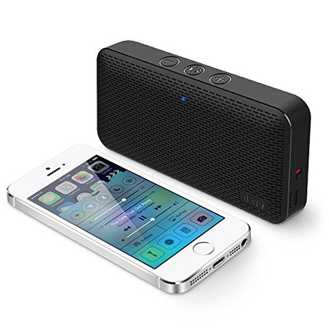 Aud Mini by iLuv (Ultra Slim Pocket-Sized Powerful Sound Bluetooth Speaker)