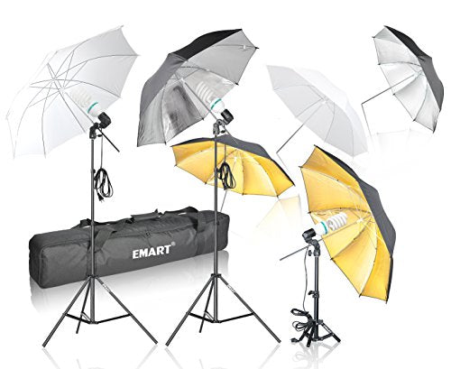 Emart Photography Umbrella Lighting Kit